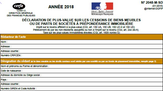 Comment remplir sa déclaration de plus-values ? Imposition plus value