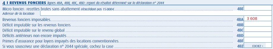 Exemple déclaration revenus SCPI – Exemple déclaration impôts SCPI